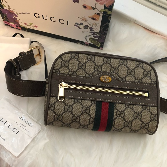 f2189f5af99 Gucci Handbags - Ophidia GUcci small belt bag   crossbody bag